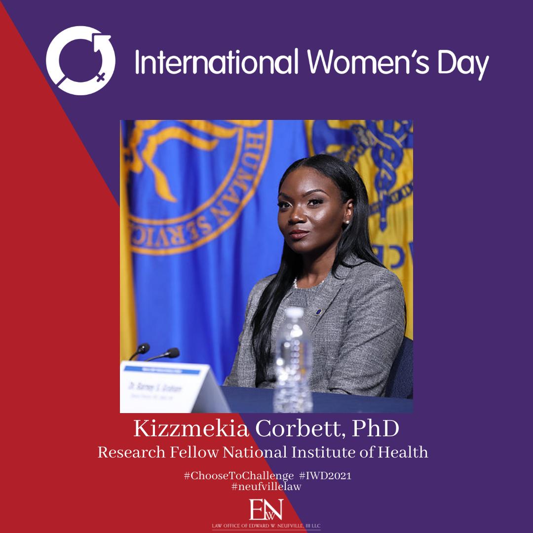 Kizzmekia Corbett International Women's Day